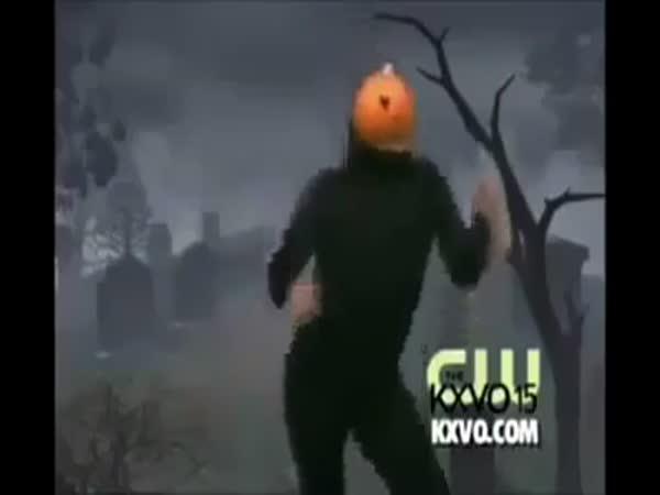 Halloweenský pokus o tanec