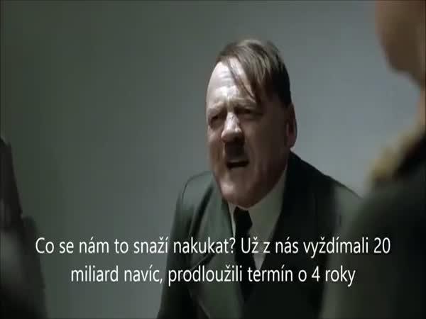 Parodie - Hitler a tunel Blanka