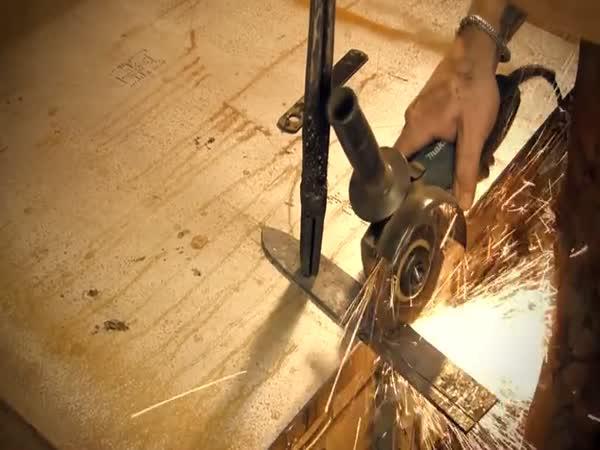 Výroba japonského kuchyňského nože