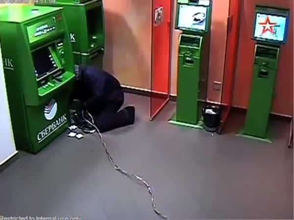 Jak se vykrádají bankomaty v Rusku