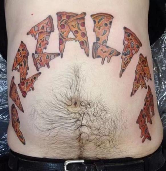 GALERIE - 20 pizza tetování