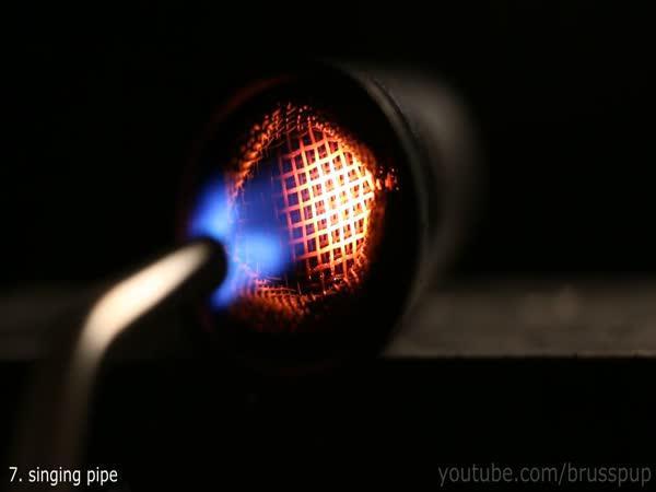 10 triků s ohněm