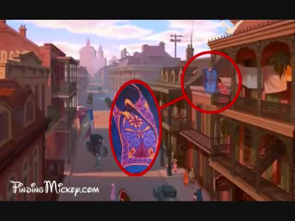 Skryté věci u Disneyho