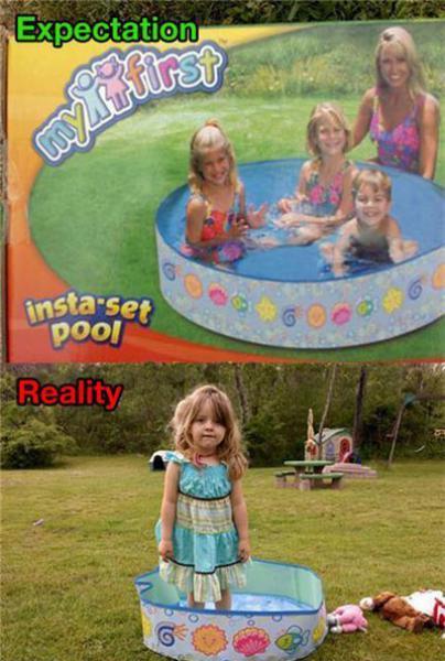 GALERIE - Realita vs. očekávání