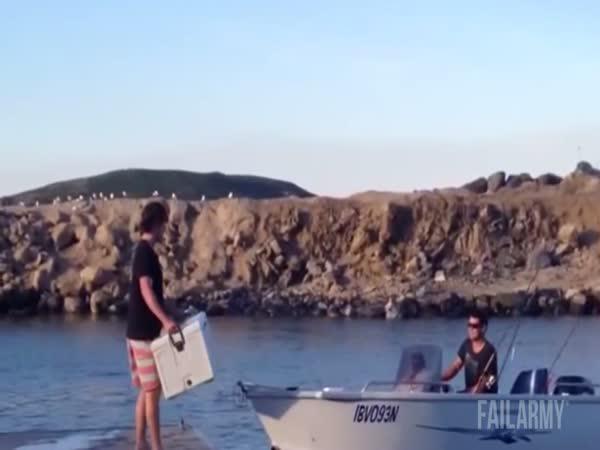 Kompilace failů na lodi
