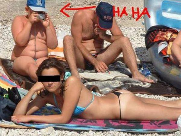 GALERIE - Nejhorší fotky z pláže
