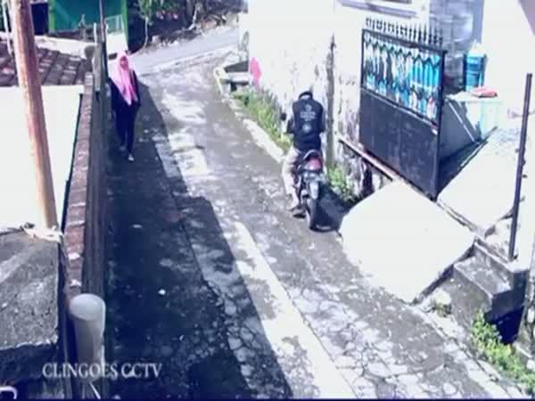 Zloděj udělal chybu