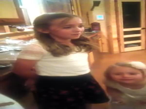 Jedenáctiletá zpěvačka