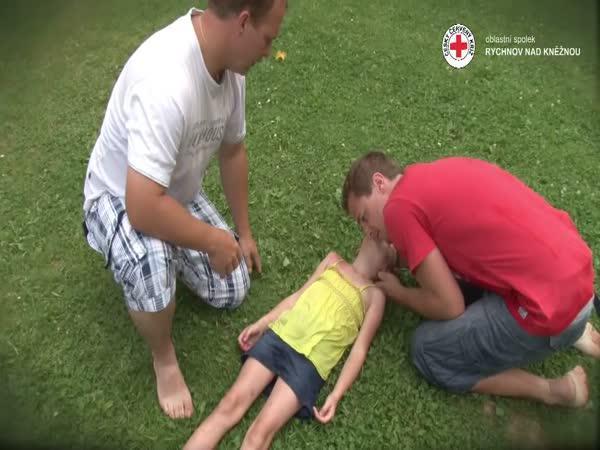 Návod - První pomoc - resuscitace dětí