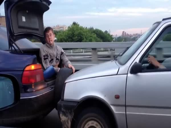 Odtahovka na ruský způsob
