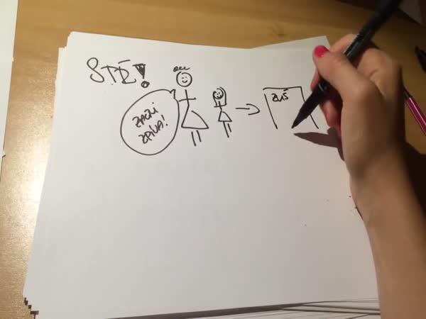 Draw my life - Gabriela Hecl