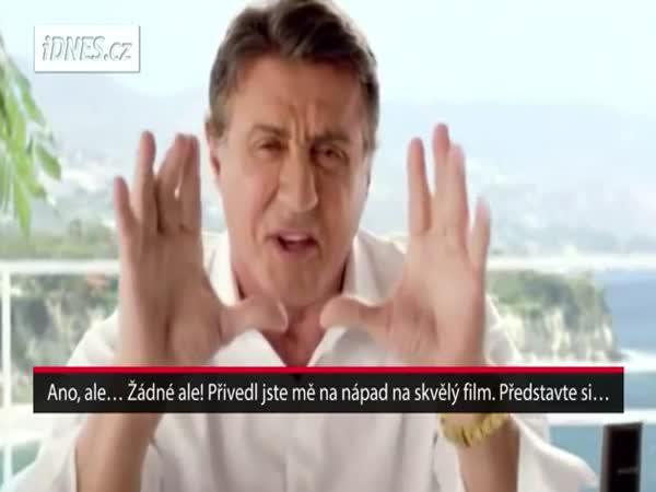 Reklama na pekárny (Sylvester Stallone)