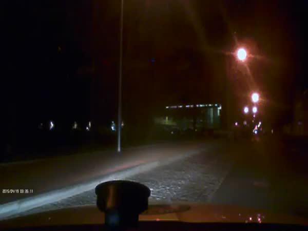 Česká republika - Honička opilého řidiče