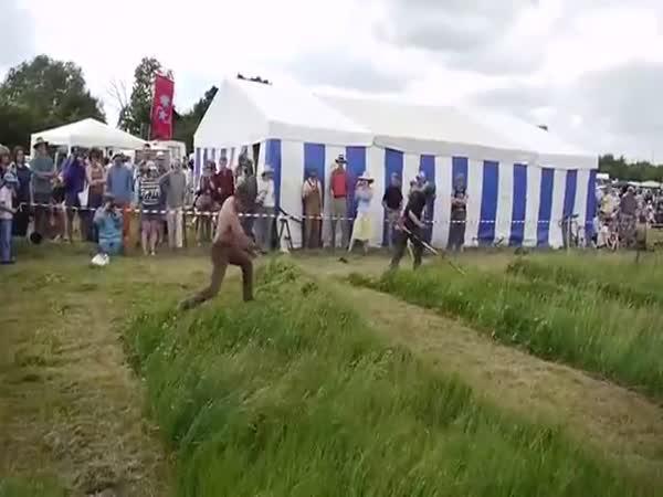 Kosa vs křovinořez