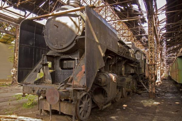 GALERIE - Hřbitov pro vlaky