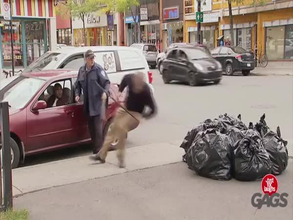 Nachytávka - Policení brutalita