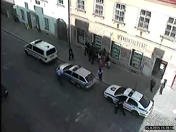 ČR - Plánované zatčení muže
