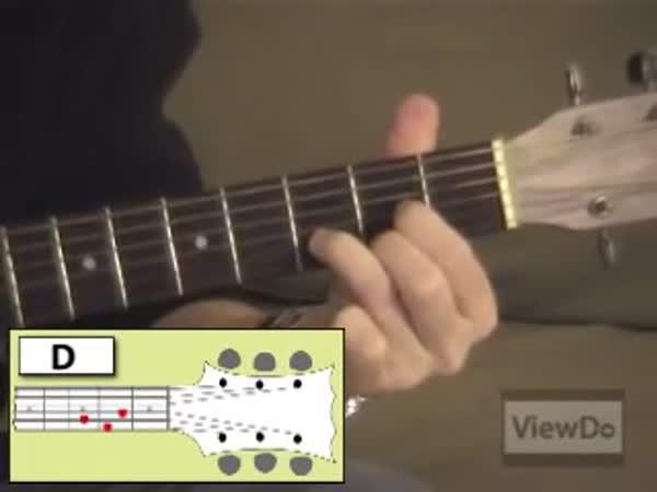Hra na kytaru - začátečníci
