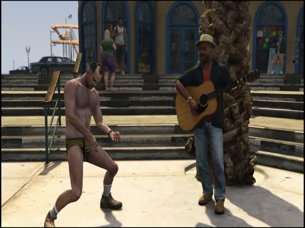 Kompilace - GTA V Jackass
