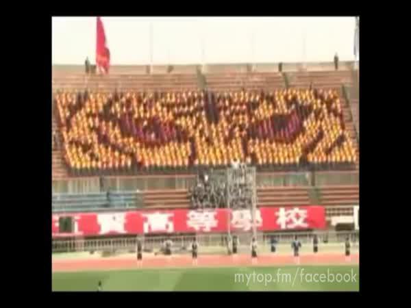 Choreografie číny