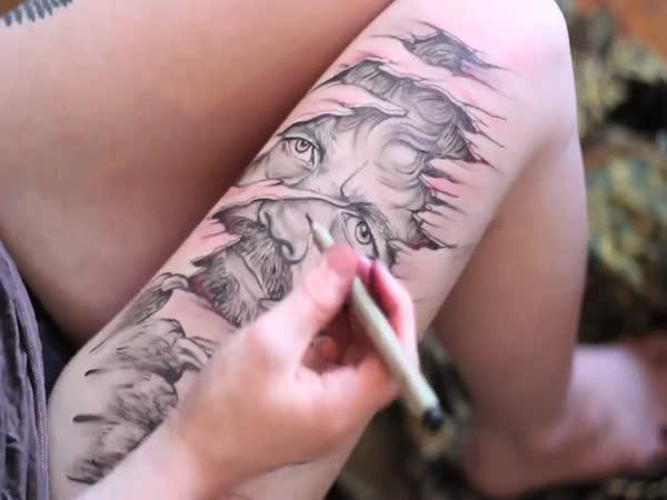 Luxusní tetování