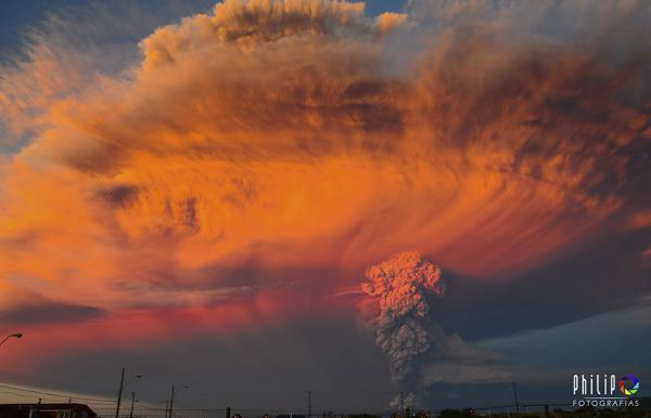 GALERIE - Erupce sopky Calbuco