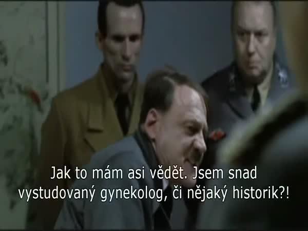 Parodie - Hitler a didaktický test 2015