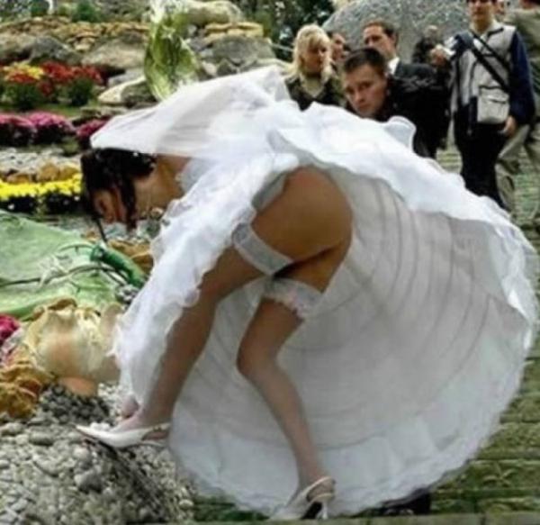 GALERIE - 13 nejhorších svatebních fotek