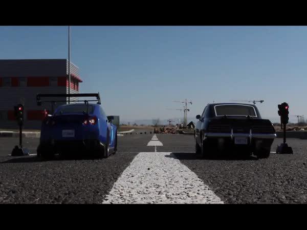 Závod s RC auty