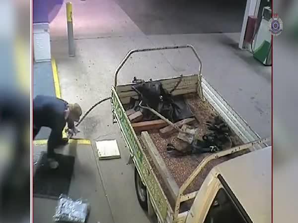 Pokus o krádež bankomatu
