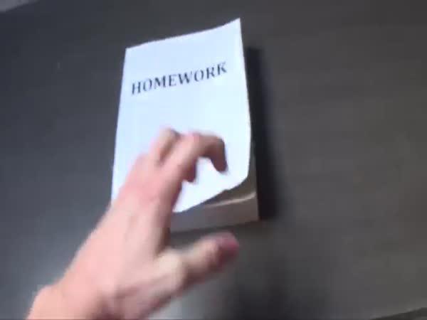 HowToBasic - Jak udělat domácí úkol