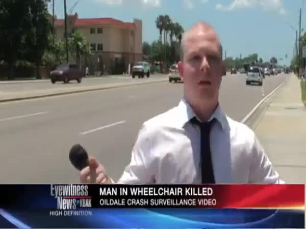 Těžká práce reportéra