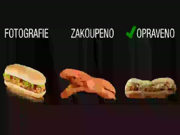 Klamavé reklamy fast foodů