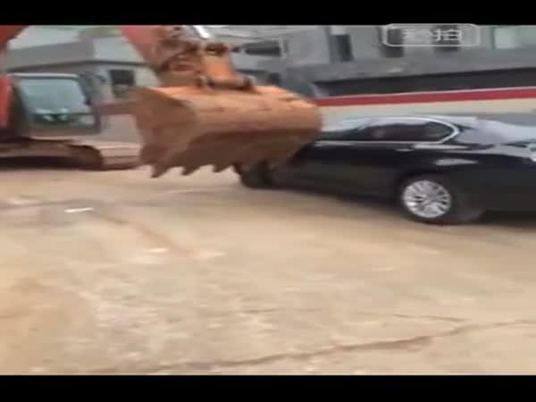 Čína - Řešení nesprávného parkování