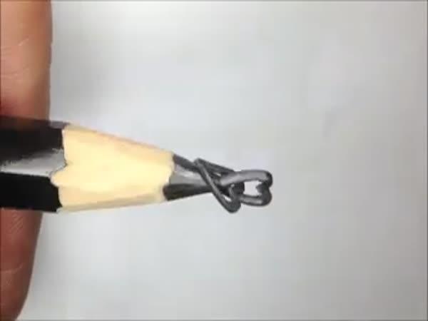 Umění na špičce tuhy