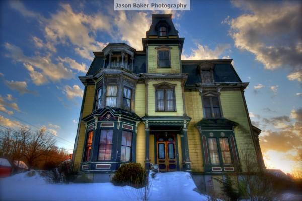 GALERIE - Strašidelná vila z roku 1875