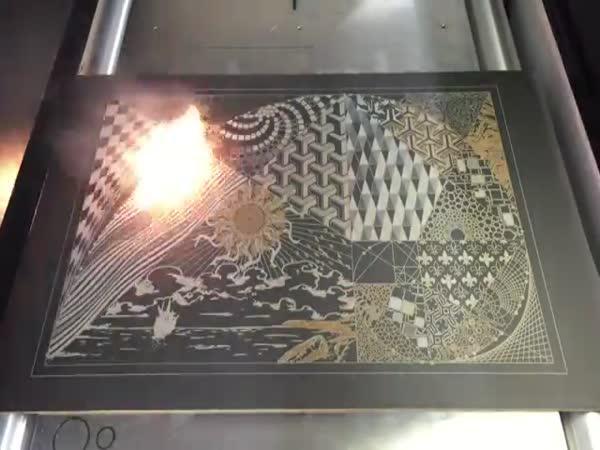 Laserové umění