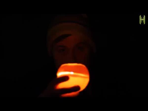 Návod - Pomerančová svíčka