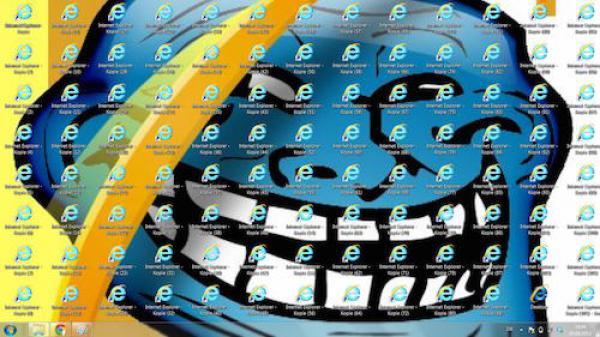 GALERIE - Sranda s Internet Explorerem