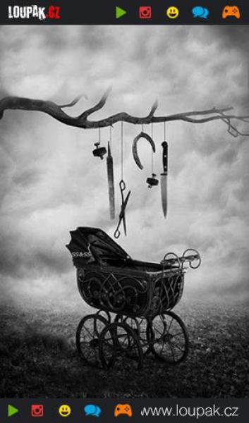 GALERIE - Strašidelné retro fotky