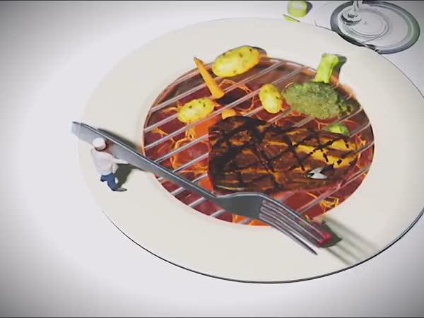 Mini kuchaři na talíři