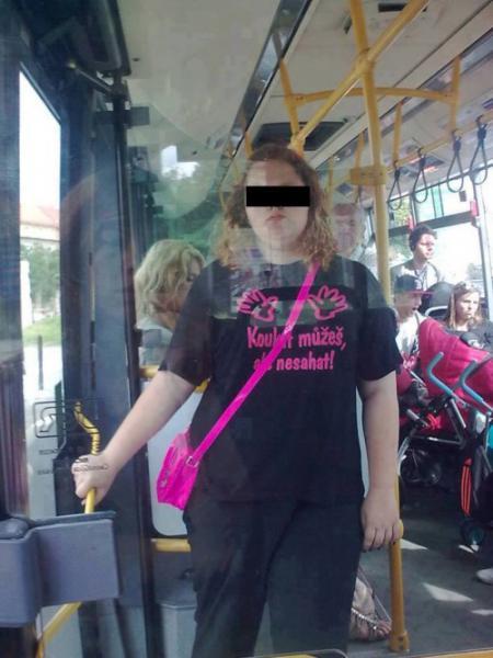 GALERIE - Nejdivnější lidi z MHD