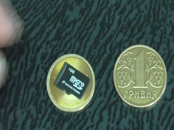 Tajná skrýš na micro SD kartu