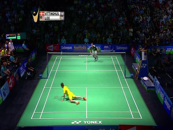 Když mistři hrají badminton