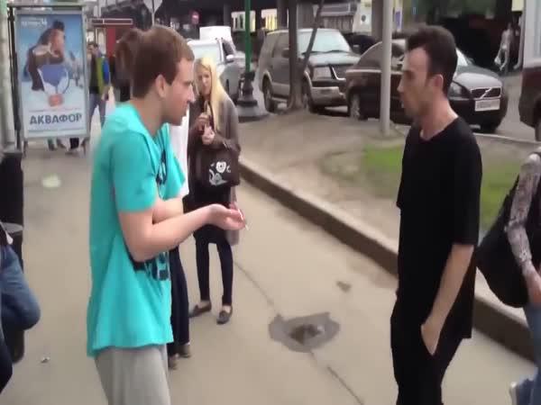 Člověk, který nesnáší kuřáky