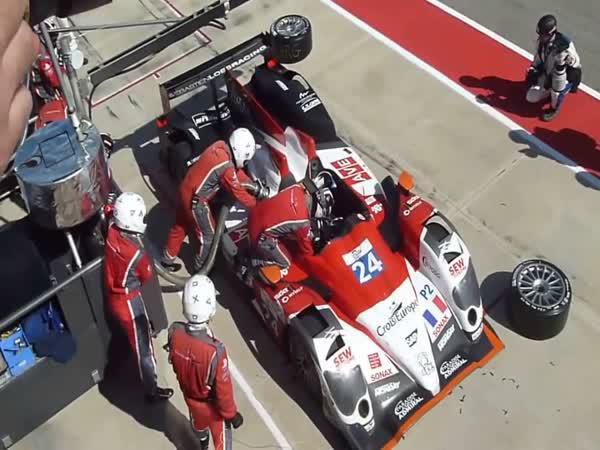 Kompilace - Pitstop v motorsportu