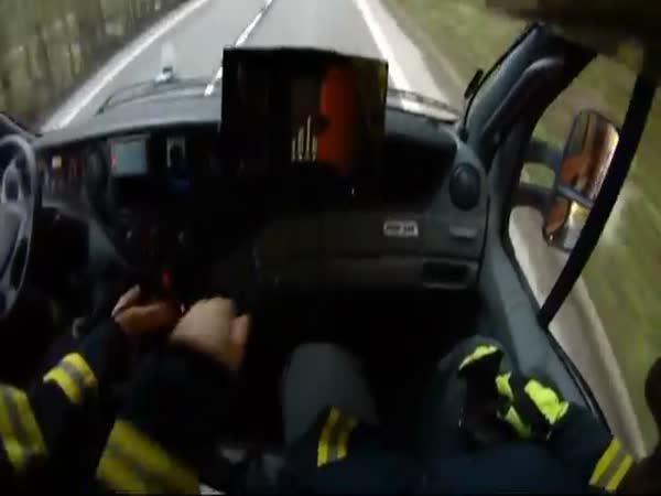 Česká republika - Zásah z pohledu velitele hasičů