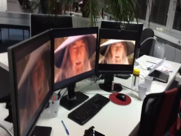 Když se nudíte v kanceláři
