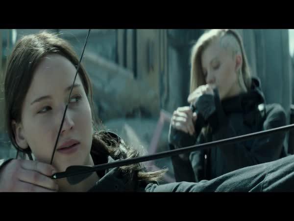 Hunger Games : Síla vzdoru 2.část Trailer