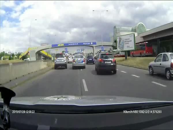 Česká republika - Policejní honička v Praze